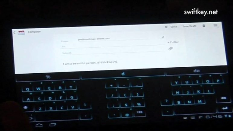 Swiftkey Tablet X - Top features