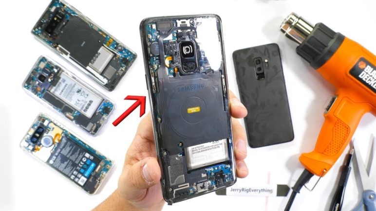 Totally Transparent Galaxy S9!! - Clear Smartphone Mod