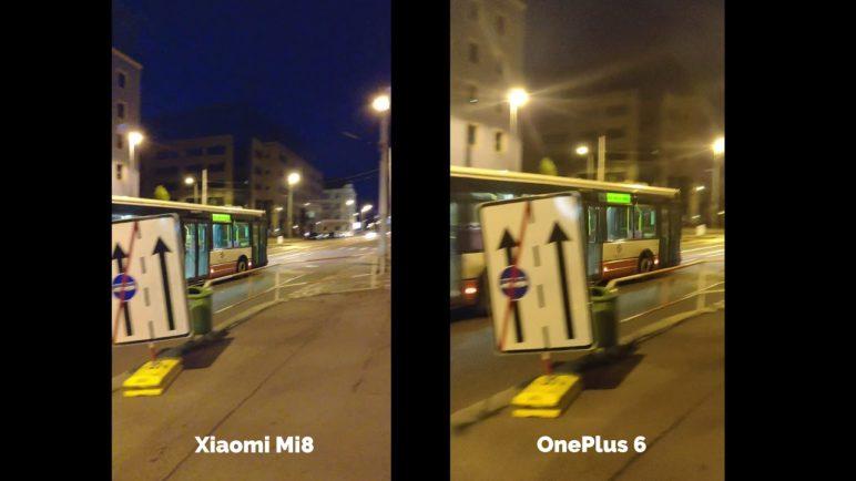 Xiaomi Mi 8 vs OnePlus 6 - video test - SvetAndroida.cz