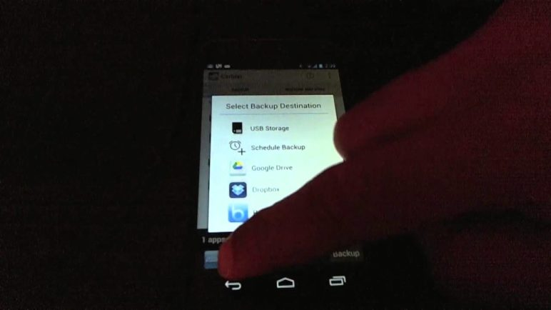 Carbon - Android's missing Backup solution