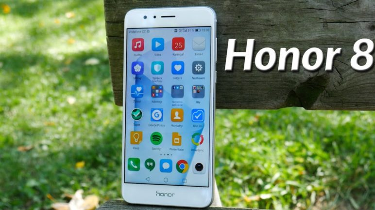 Honor 8 - videopohled