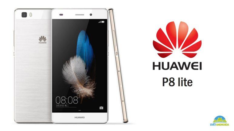 Huawei P8 Lite - první pohled