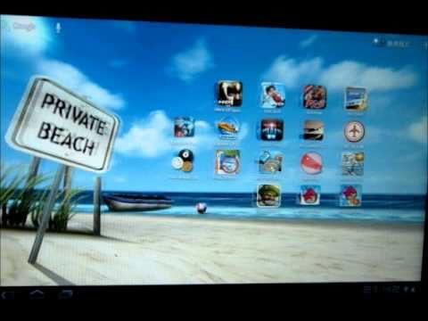 My Beach Live Wallpaper 示範