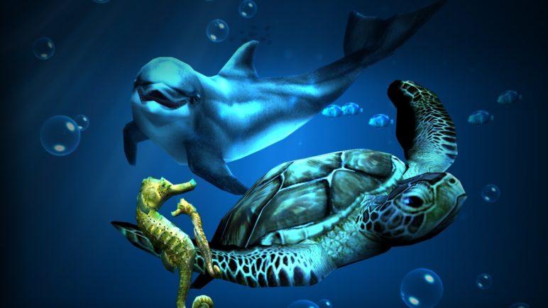 'Ocean HD' Live Wallpaper Update With 'Friendly Seas' Add-on