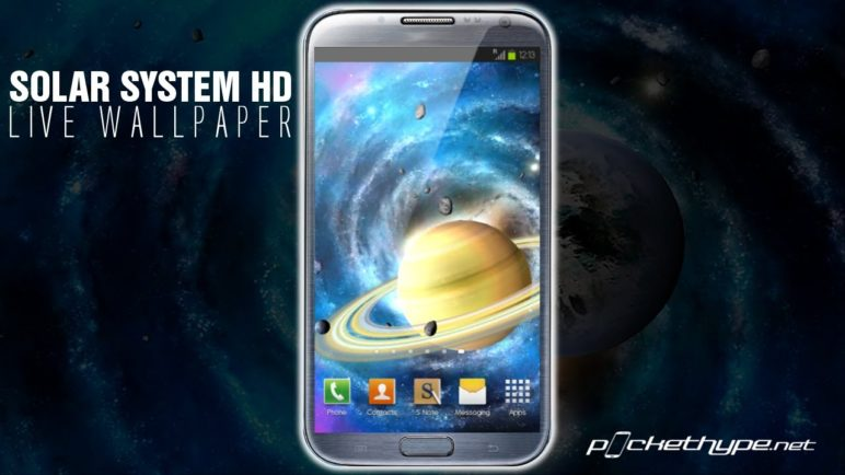 Solar System HD Deluxe Edition Live Wallpaper