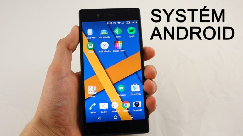 Sony Xperia Z5 - systém