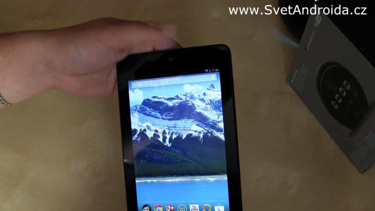 Tablet Nexus 7 - první pohled