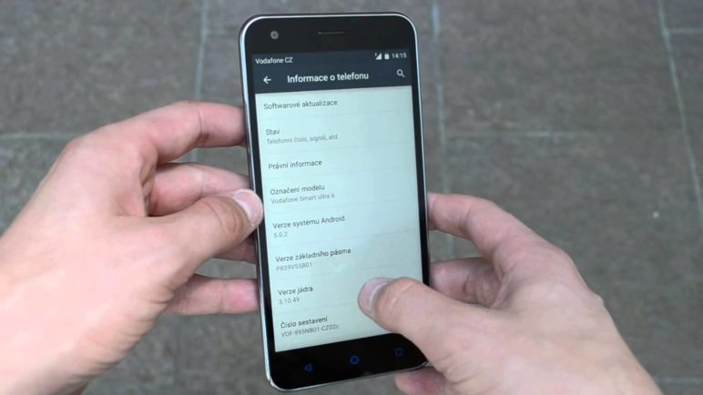 Vodafone Smart ultra 6 - první pohled