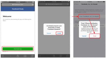 Facebook-Research-aplikace