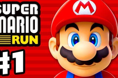 Super Mario Run – Gameplay Walkthrough Part 1 – World 1, Toad Rally, and Kingdom Builder! (iOS)