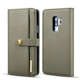 Leather 2-IN-1 Detachable Dual-Use Wallet Phone Case for Samsung S9 Plus