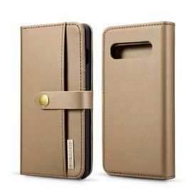 Leather 2-IN-1 Detachable Dual-Use Wallet Phone Case for Samsung S10