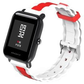 TAMISTER Silicone Two-color Watch Strap for AMAZFIT
