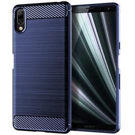 leeHUR Carbon Fiber TPU Phone Case for Sony Xperia L3